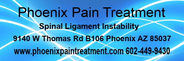 Picture depicting Phoenix Pain Treatment and Spinal Ligament Instability
